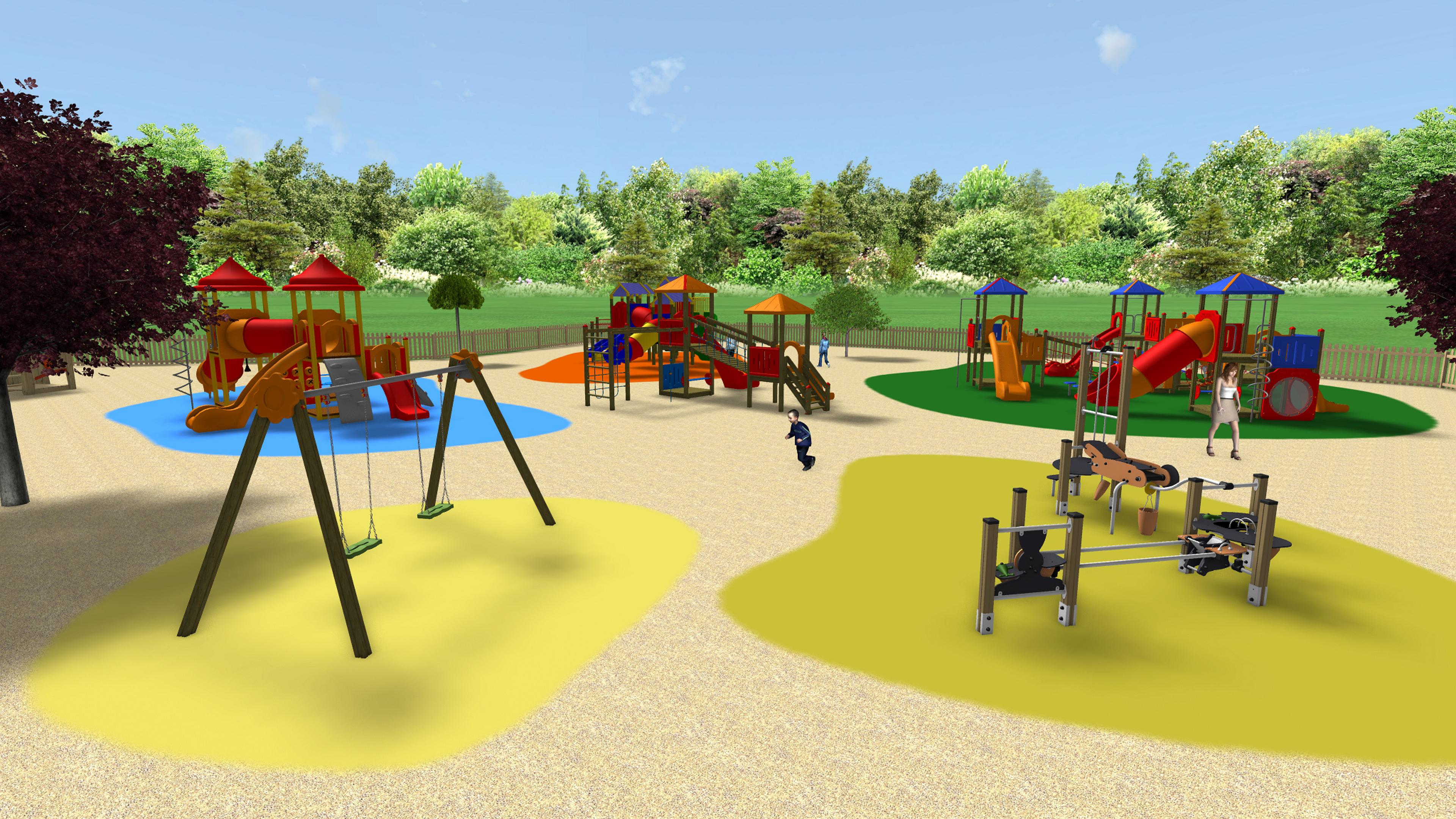 elementos infantiles, juegos para niños, área infantil