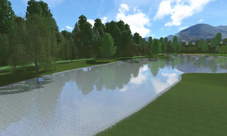 diseño campo de golf