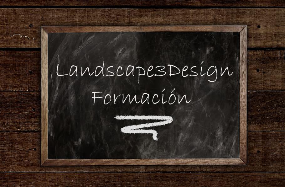 cursos de formación del programa Landscape3Design